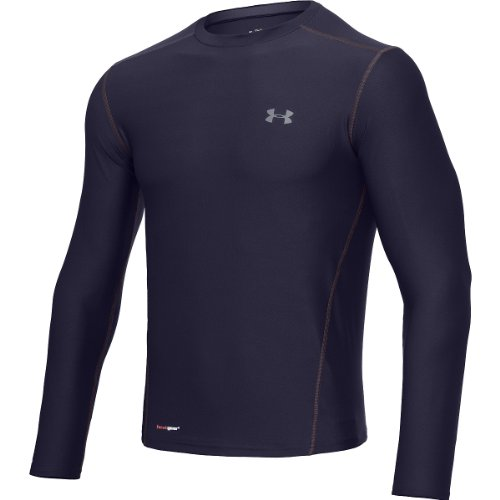 under armour heatgear fitted base longsleeve crew